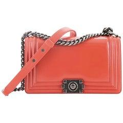 Chanel Reverso Boy Flap Bag Glazed Calfskin Old Medium