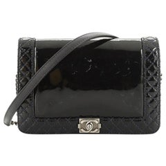 Chanel Reverso Boy Flap Bag Patent Small