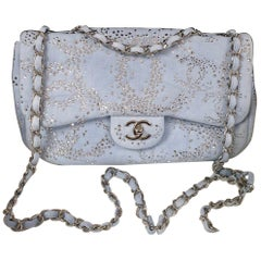 Chanel Rhinestone Denim Flap Bag