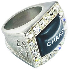 Chanel Ring Vintage Y2K Autumn 2000 Collection