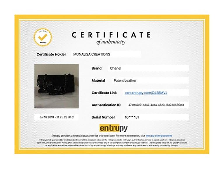 Chanel Ritz Shoulder Bag Convertible Clutch Black Matelasse Patent Leather  For Sale 7