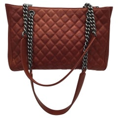 Chanel 'Rock in Rome' Red Quilted Tote