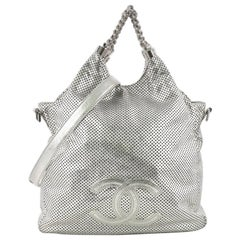 391eb651bcac79 Chanel Rodeo Drive Hobo Perforated Leather Large
