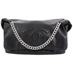 Chanel Rodeo Drive Shoulder Bag Lambskin Jumbo