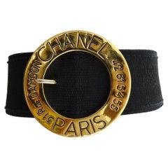Chanel Rue Cambon Belt Choker