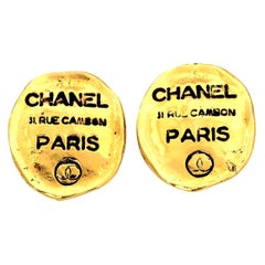 Chanel Rue Cambon Clip-On Earrings