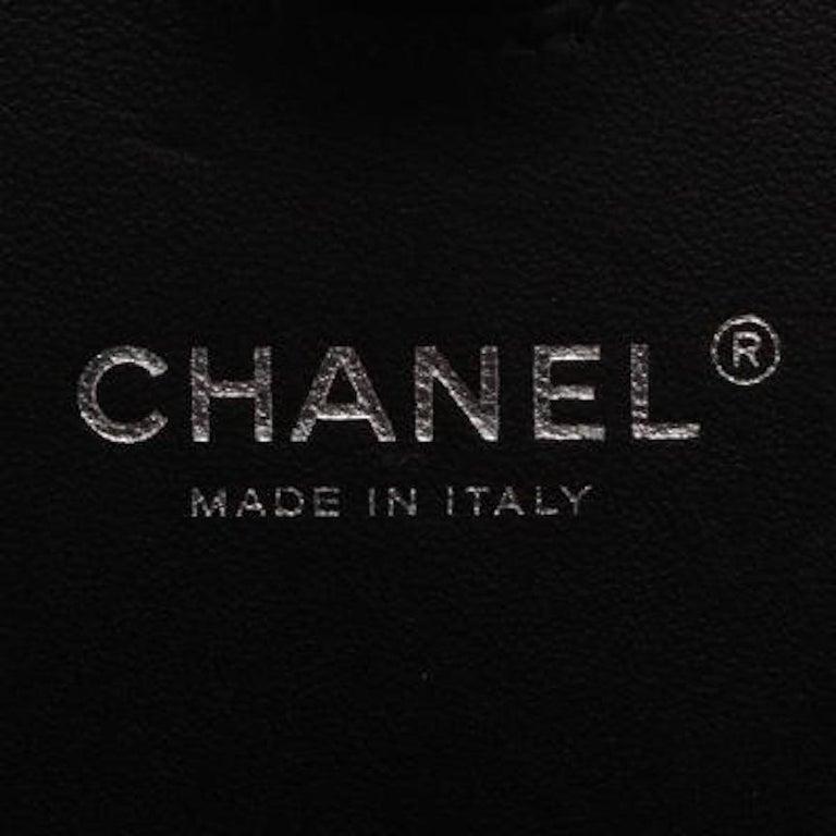 Chanel Runway Black Resin Satin Crystal Film Evening Clutch Shoulder Bag For Sale 4