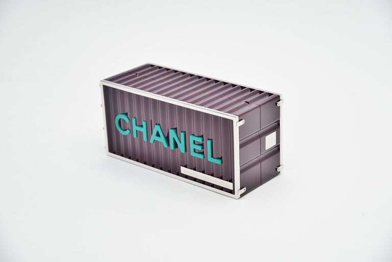 Chanel Runway Container Clutch / Shoulder Bag Karl Lagerfeld NEW  In New Condition For Sale In Roosendaal, NL