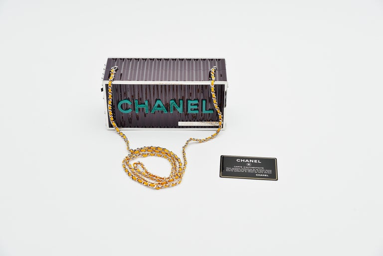 Chanel Runway Container Clutch / Shoulder Bag Karl Lagerfeld NEW  For Sale 3