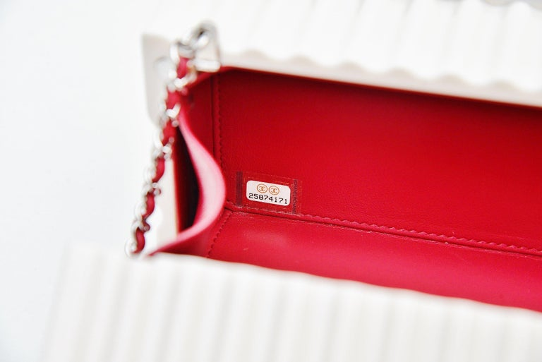 Chanel Runway Container Clutch/ Shoulder Bag Karl Lagerfeld NEW For Sale 3
