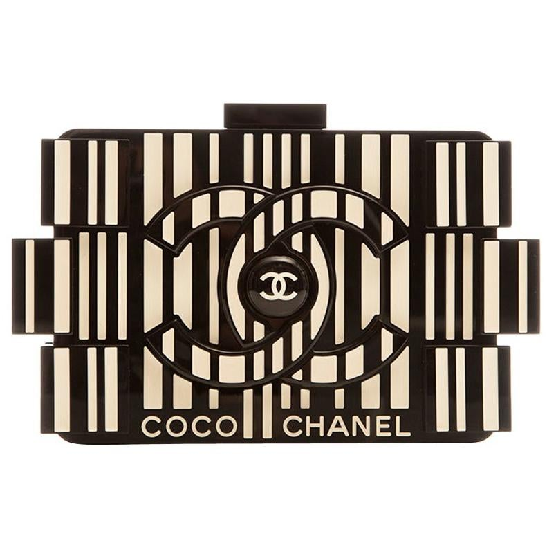 Chanel Runway Op-art Lego Boy Bag