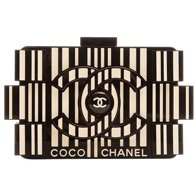 Chanel Runway Op-art Lego Boy Bag For Sale