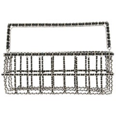 Chanel Runway Supermarket Grocery Basket Chain Tote Minaudière