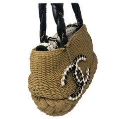 Chanel Runway Wicker Bag