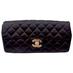 Chanel S/S Gripoix Satin Flap Bag
