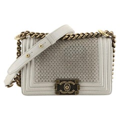 Chanel Scaled Boy Flap Bag Lambskin Small
