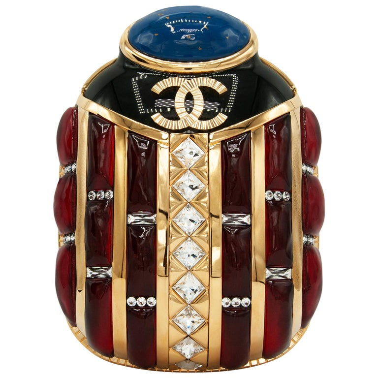 Chanel Métiers d'Art scarab minaudière, 2019, offered by LuxeLab Concierge