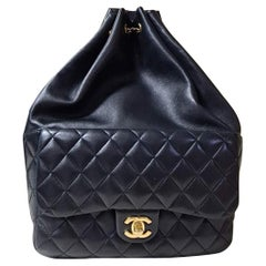 Chanel Seoul Lamb Black Backpack