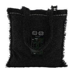 Chanel Shopping Tote Embellished Tweed Large