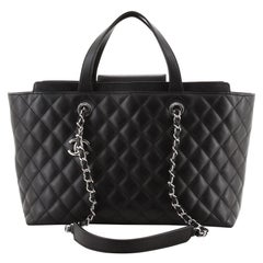 Chanel Shopping Tote Quilted Calfskin Medium
