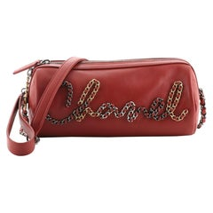 Chanel Signature Bowling Bag Calfskin