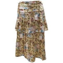 Chanel silk Skirt