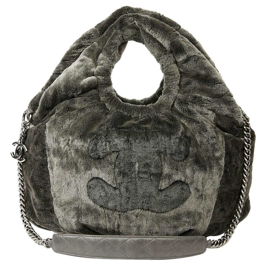 CHANEL Silk Velvet Bag
