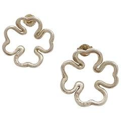 CHANEL Silver Earring