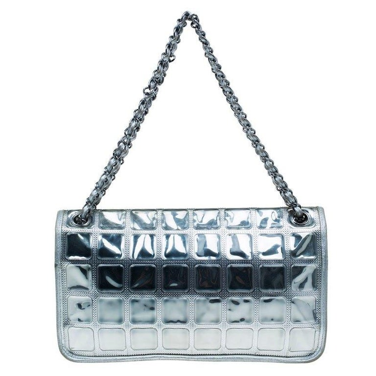 4ecf872ab7f8 This Ice Cube limited edition bag by Chanel from the Cruise 2008 collection  is elegance redefined