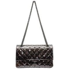 Chanel Silver Mirror Fall/Winter 2012 Reissue 225 Bag