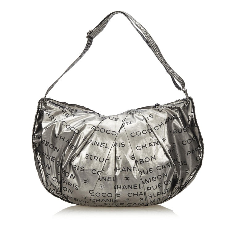 4319d8c8d811 Chanel Silver Unlimited Shoulder Bag In Good Condition For Sale In Orlando,  FL