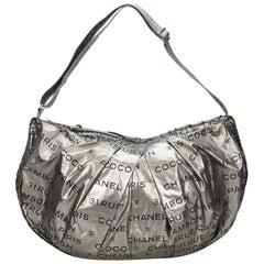 Chanel Silver Unlimited Shoulder Bag