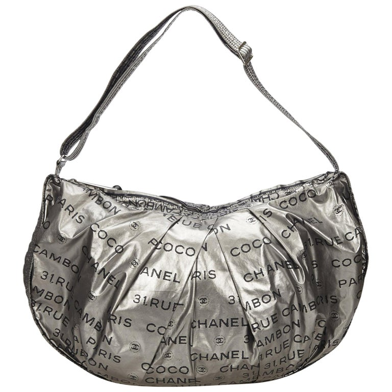 9180a89051a7 Chanel Silver Unlimited Shoulder Bag at 1stdibs