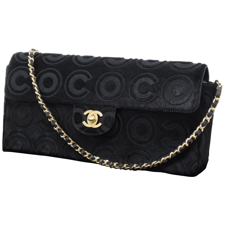 Chanel Single Flap Bag Coco - CalfSkin - Pony-Style