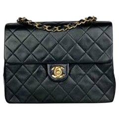 Chanel Single Square Classic Flap Crossbody Bag