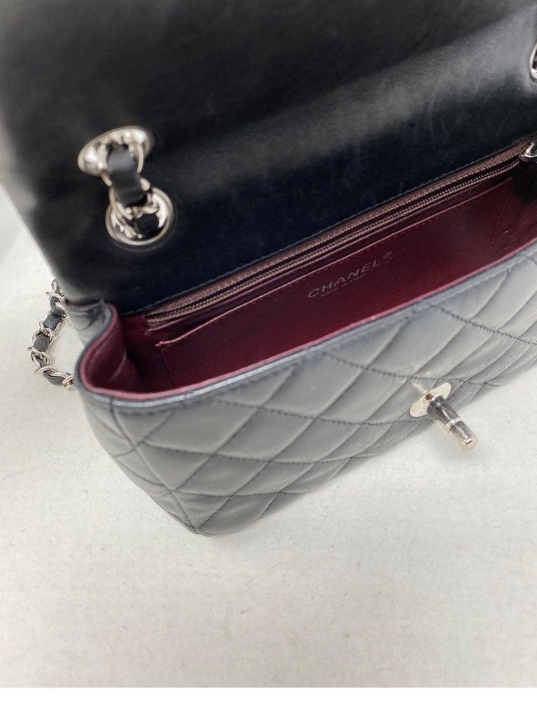 Chanel Small Black Crossbody Bag For Sale 6
