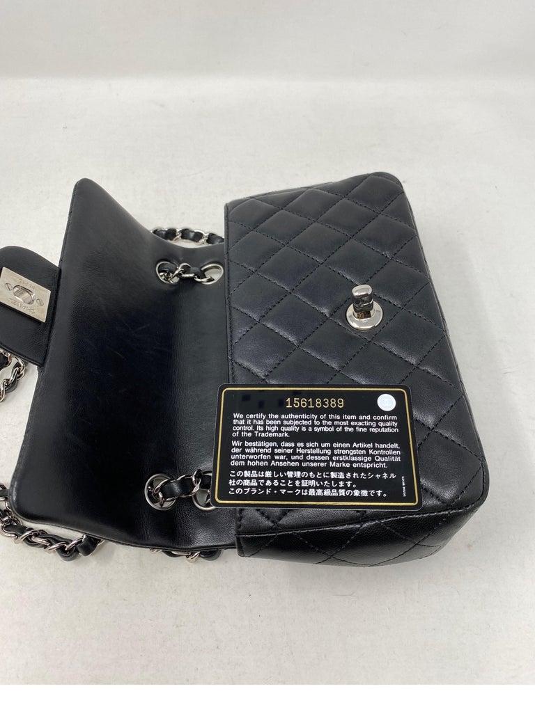 Chanel Small Black Crossbody Bag For Sale 7
