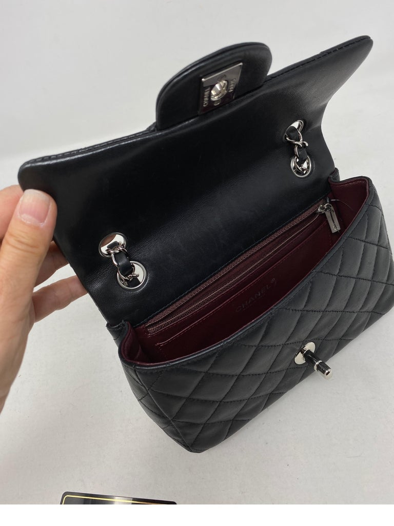Chanel Small Black Crossbody Bag For Sale 9