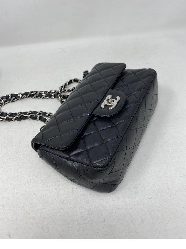 Chanel Small Black Crossbody Bag For Sale 10