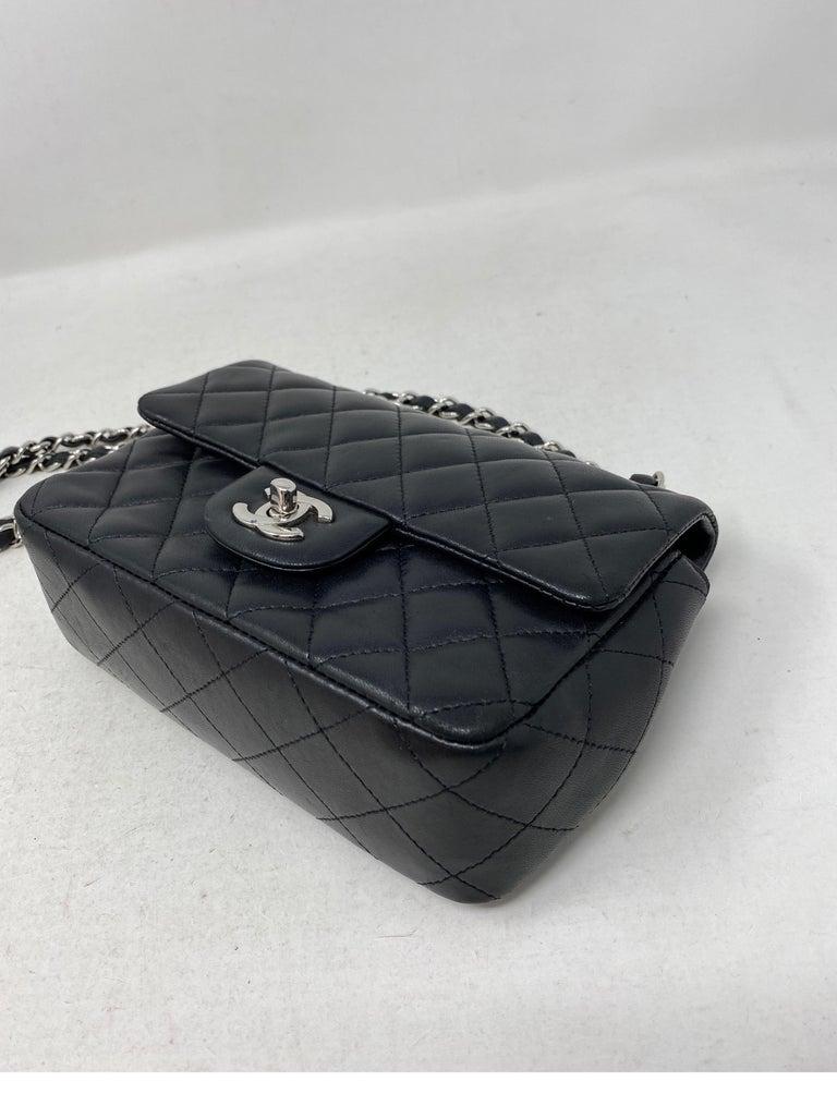 Chanel Small Black Crossbody Bag For Sale 11