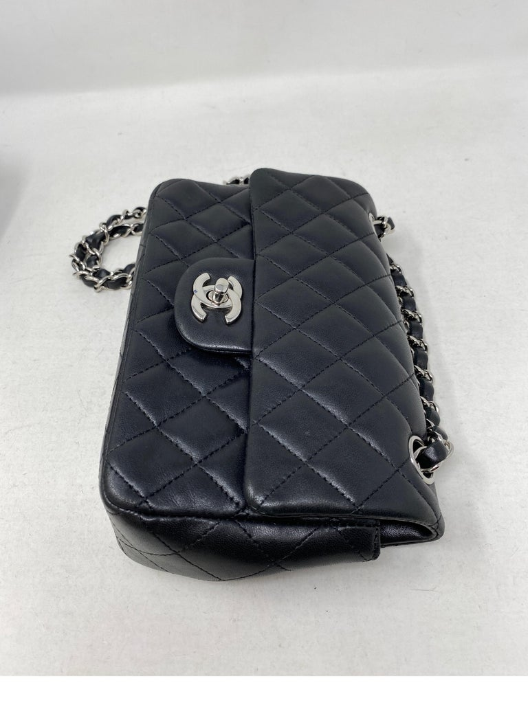 Chanel Small Black Crossbody Bag For Sale 12