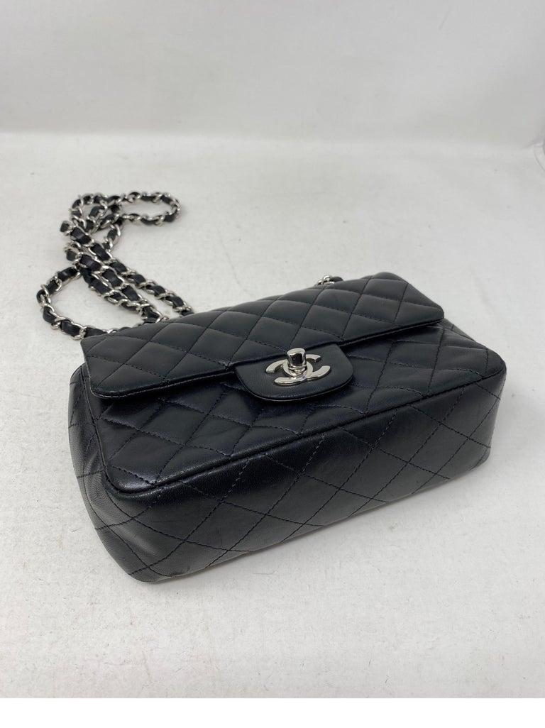 Chanel Small Black Crossbody Bag For Sale 14