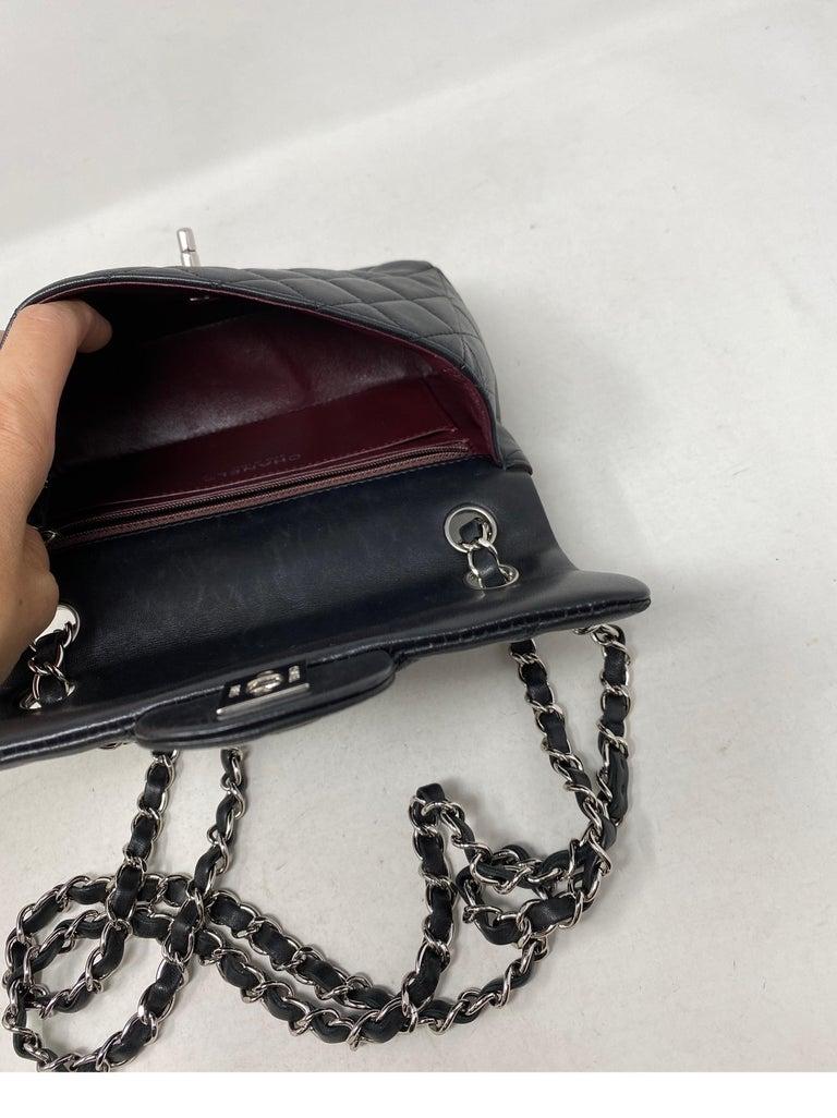 Chanel Small Black Crossbody Bag For Sale 15