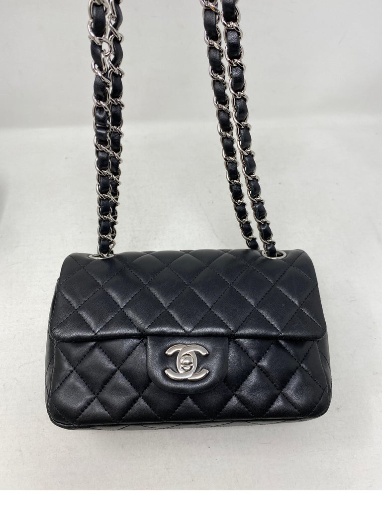 Chanel Small Black Crossbody Bag In Good Condition For Sale In Athens, GA