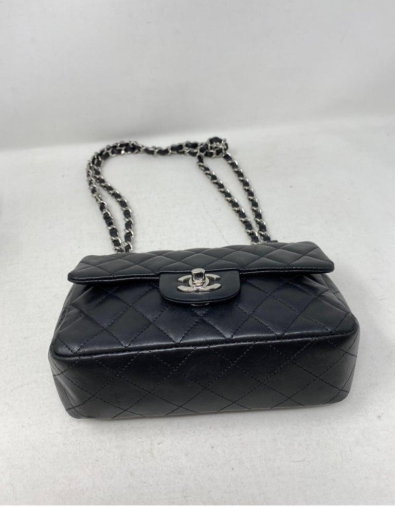 Women's or Men's Chanel Small Black Crossbody Bag For Sale