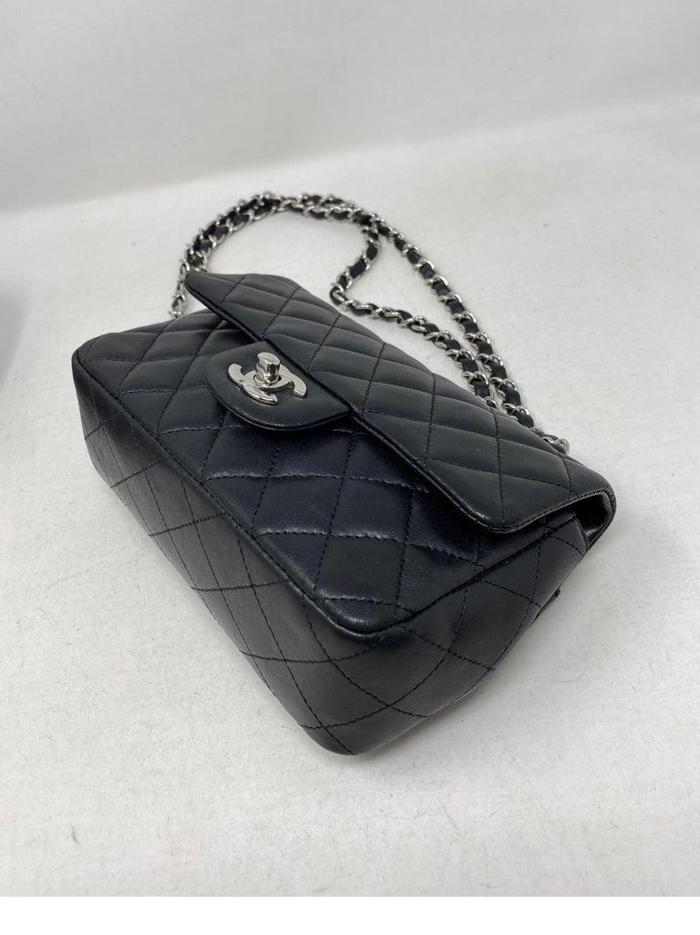 Chanel Small Black Crossbody Bag For Sale 2