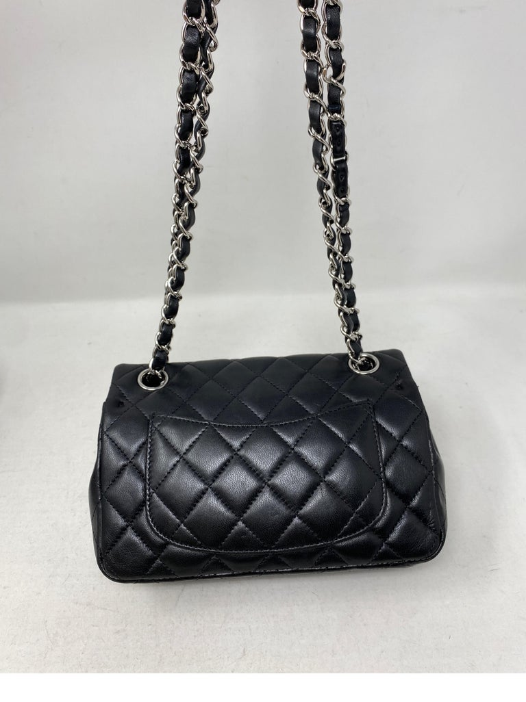 Chanel Small Black Crossbody Bag For Sale 3