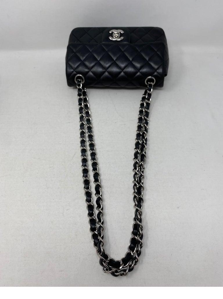 Chanel Small Black Crossbody Bag For Sale 4
