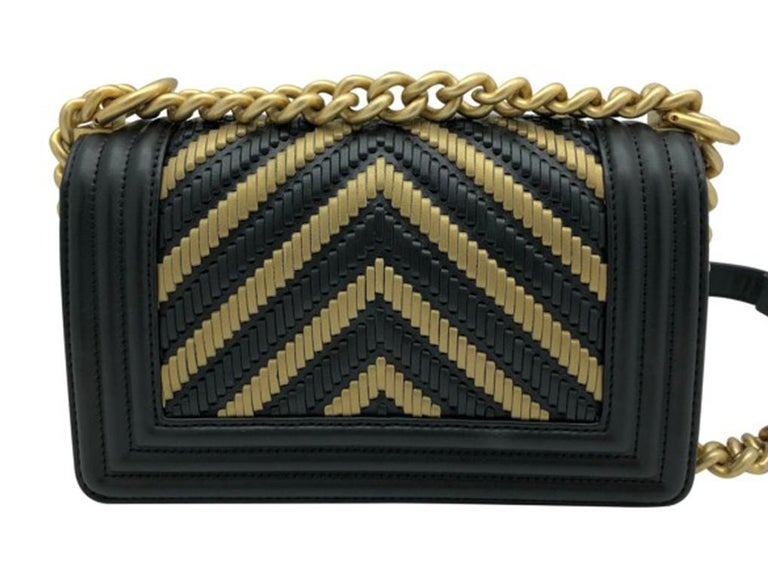 Black Chanel Small Boy Bag Limited Edition 2019