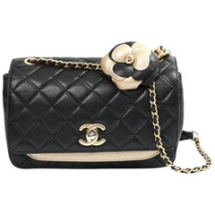 CHANEL Small Flap Bag In Quilted Leather
